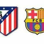 Horario y televisión del Atlético Madrid – Barcelona