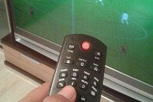 Fútbol en la televisión