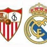 Sevilla FC – Real Madrid, por internet y televisión