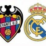 Levante – Real Madrid, por internet y televisión
