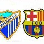 Málaga – Fútbol Club Barcelona, por internet y televisión