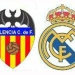 Valencia – Real Madrid, por la televisión en directo