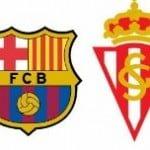 Horario y televisión del FC Barcelona – Sporting Gijón