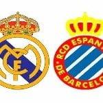 Real Madrid – Espanyol, por internet y televisión