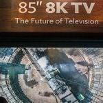 El satélite Astra 3B prueba la señal de televisión en 8K