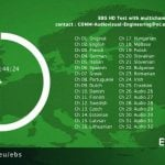 EbS y EbS+, Europe by Satellite, ya emiten en alta definición