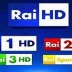 Los canales de RAI HD, pronto en abierto por satélite