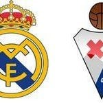 Real Madrid – Eibar, la Liga por televisión en directo