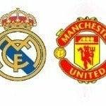 Real Madrid – Manchester United, por televisión en directo