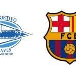 Alavés – FC Barcelona, por internet y televisión