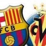 FC Barcelona – Villarreal, por internet y televisión