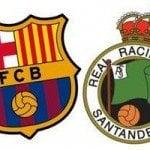 Barcelona B – Racing Santander, por internet y televisión