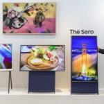 Samsung lanza un televisor de disposición vertical