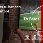 La guerra del fútbol en los bares más abierta, ahora con Vodafone