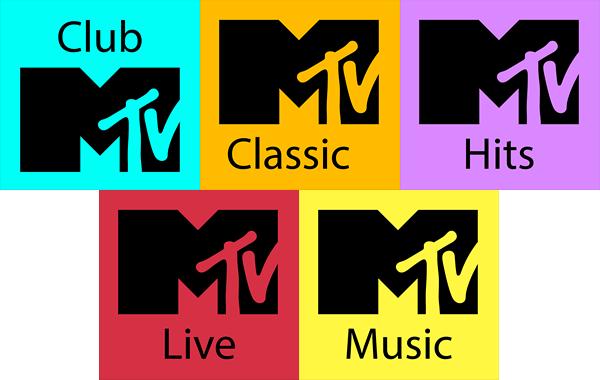 MTV nuevos logos